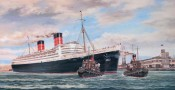 The Queen Elizabeth At Southampton