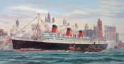 The Queen Mary at New York