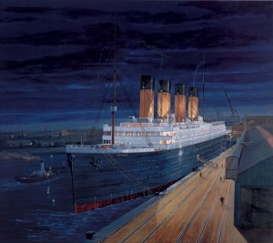 Titanic DAWNS EARLY LIGHT
