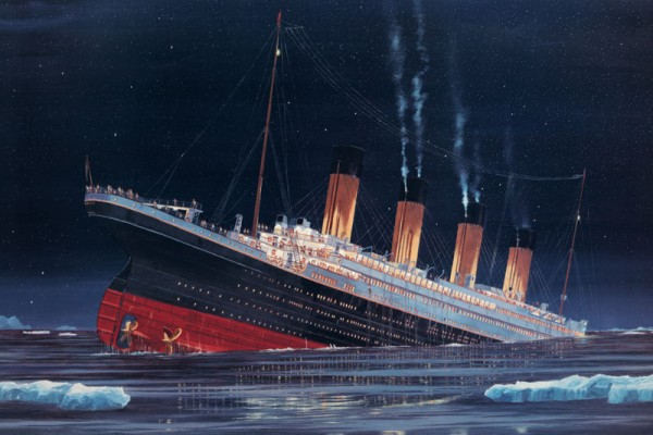 Titanic The Final Plunge