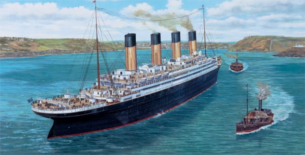 Titanic at Queenstown 2