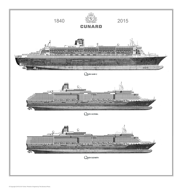 Line Drawing Of Queen Victoria : Qm queen elizabeth and victoria « simon fisher